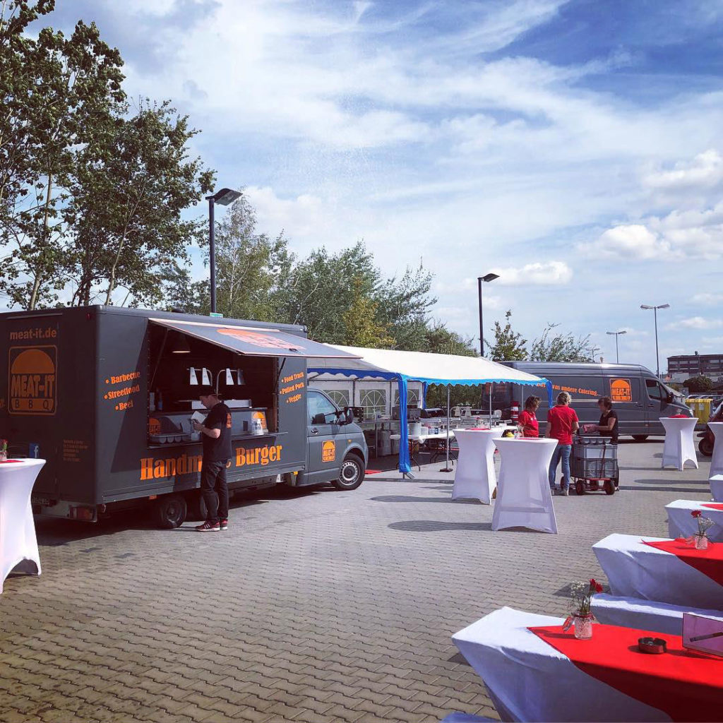 Catering mit Foodtruck